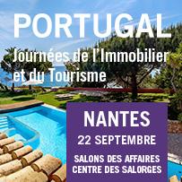 Journ es de l 39 immobilier et du tourisme portugais nantes - Salon de l immobilier et du tourisme portugais ...