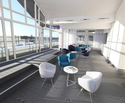 espaces wave location salle de r union ou espace de restauration cci nantes st nazaire. Black Bedroom Furniture Sets. Home Design Ideas
