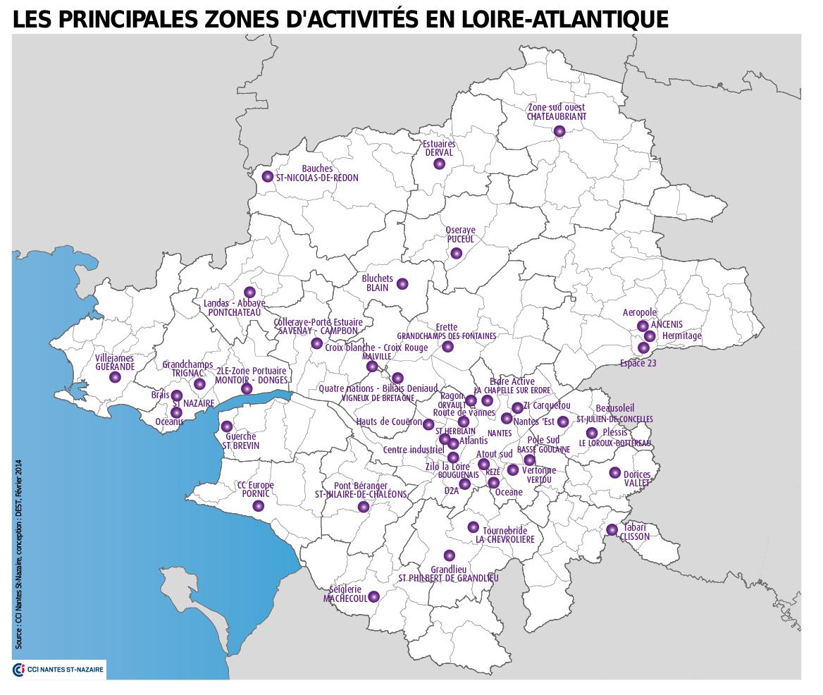 Les zones d 39 activit s de loire atlantique cci nantes st - Chambre des notaires de loire atlantique ...