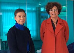 Fabienne Rochedreux et Annie Santerre, CCI Nantes St-Nazaire