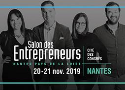 Salon des entrepreneurs Nantes Pays de la Loire 2019