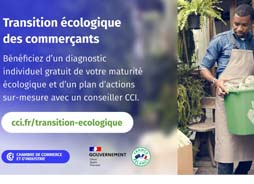 Commerces : accélérons ensemble votre transition écologique !