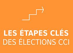 Les étapes clés des élections CCI