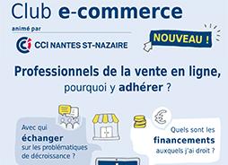 Le Club E-Commerce, animé par la CCI Nantes St-Nazaire