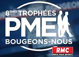 """Candidater aux 8èmes trophées """"PME bougeons-nous """" RMC"""