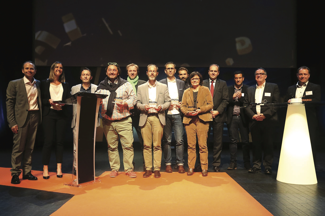Laureats 2016 de Digital Change