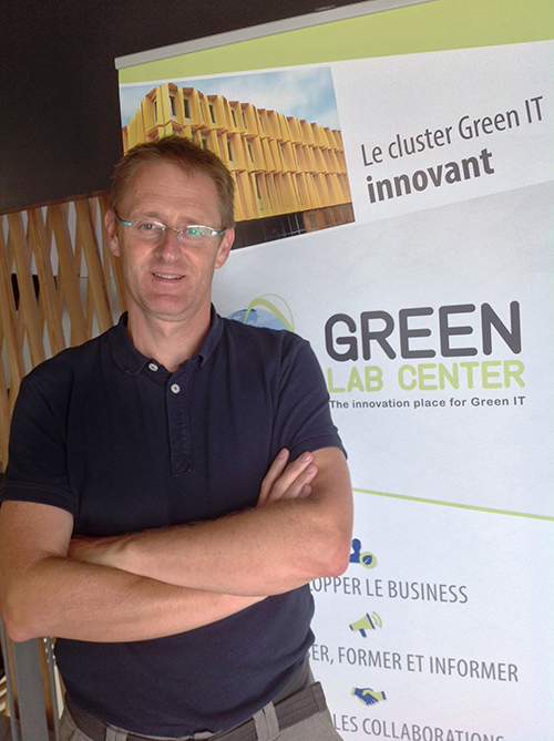 Thierry Leboucq, président du cluster Green Lab Center