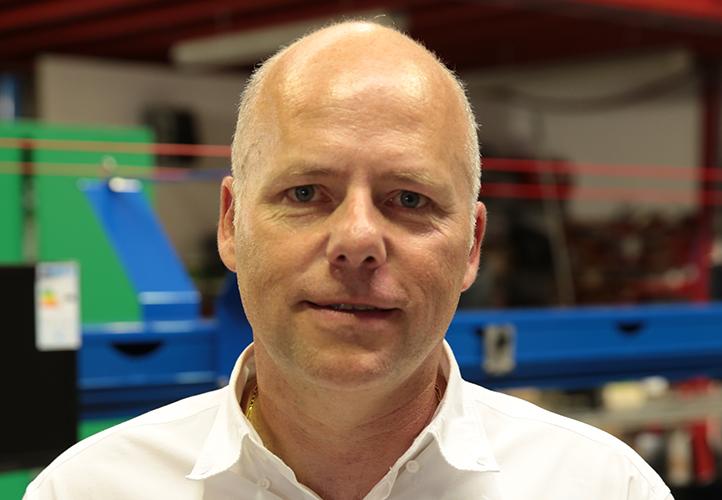 Laurent Surriray, gérant de Mecaflor