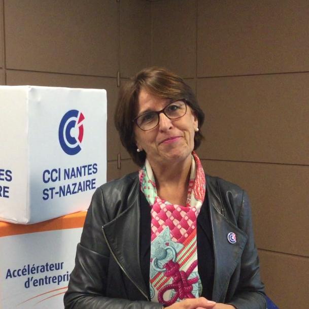Anne Blanche, élue CCI Nantes St-Nazaire #ConnexionFinance