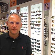 Benjamin Delannoy, gérant de Lynx Optique