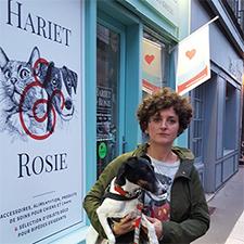 Carole Le Roch, dirigeante de Hariet & Rosie