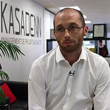Christophe Berthou, gérant de Kasadenn