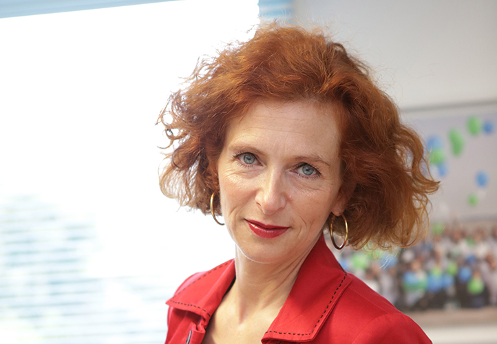 Laure Brunschvicg, gérante de ADHAP Services
