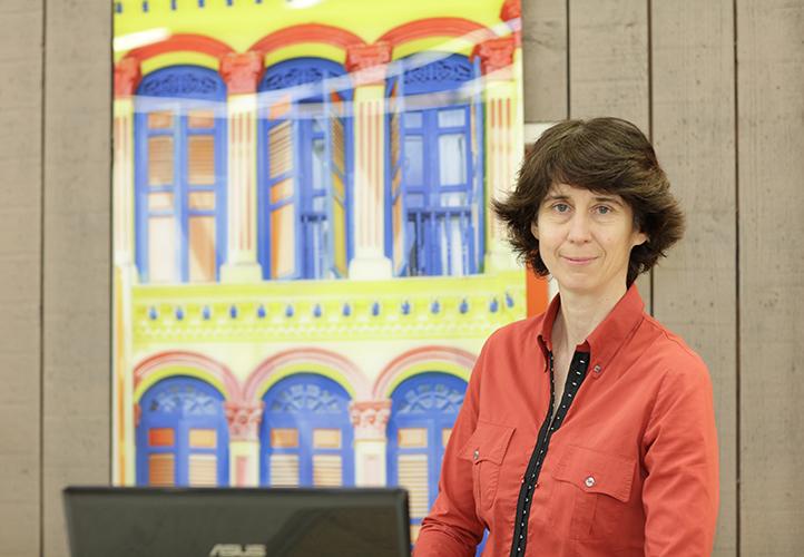 Laurence Audy, Dirigeante de Sous les toits