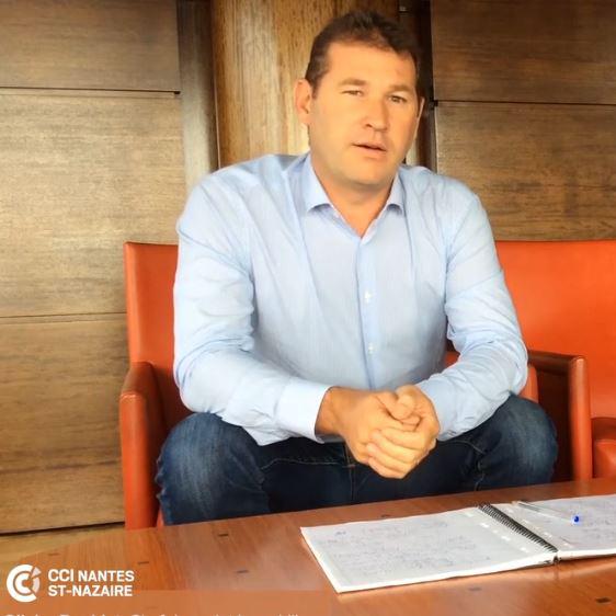 Olivier Bouldet, chef de projet CCI Nantes St-Nazaire