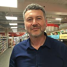 Olivier Flamand, gérant du Carrefour Market Feydeau