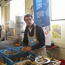 Pascal Chellet, président de l'association produit en presqu'île de Guérande
