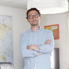 Stéphane Darcel, dirigeant de Move et Rent