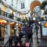 Le Passage Pommeraye à Nantes pendant la période de Noël