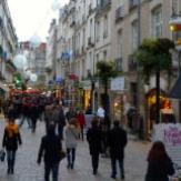 Commerces en centre-ville de Nantes