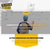 Prix innovation Sécurité Routière 2020