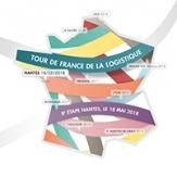 Carte Tour de France logistique