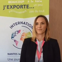 Camille Chapalain, responsable commercial export Lemer Pax