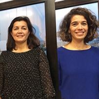 Michelle Delcroix CCI Nantes St-Nazaire et Stéphanie Barrault, Bouygues Bâtiment Grand Ouest