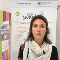 Annabel Marquet, Responsable de gestion Ventilairsec