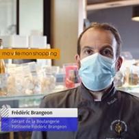 Frédéric Brangeon, gérant de la boulangerie Pâtisserie Brangeon à la Chapelle-sur-Erdre
