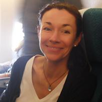 Katia de Saint-Just, Présidente de l'association des commerçants Vita'Ville à Nozay
