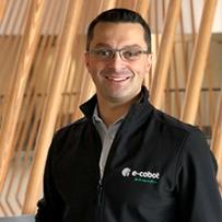 Sébastien Ecault, dirigeant de la société E-Cobot