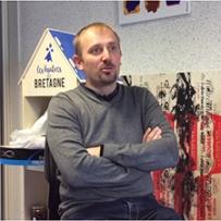 Thibaut Lebeaupin, co-gérant de Lebeaupin SARL