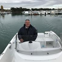 Thierry Deniau, pilote du pôle de services nautiques Wintering