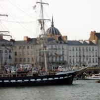 Le Belem en escale à Nantes