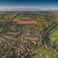 Vue aérienne Plan Local d'Urbanisme
