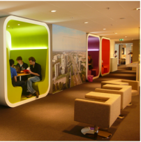 Le Smart Work Center d'Amsterdam Bright City (Zuidas)