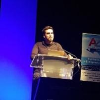 Idriss Aberkane - conférence Presqu'île estuaire entrepreneurs