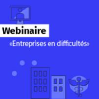 Retour sur le webinaire « Difficultés des entreprises »