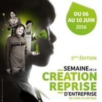 5ème édition de la Semaine de la création-reprise d'entreprise en Loire-Atlantique