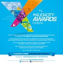 Soirée de remise des prix Audacity Awards 2017