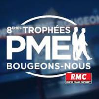 """Candidater aux 8èmes trophées """"PME Bougeons-nous"""" RMC"""