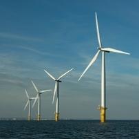 Parc éolien en mer St-Nazaire banc de Guérande