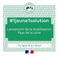 1 jeune 1 solution mobilisation Pays de la loire
