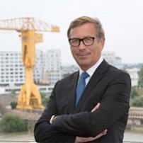 Jean-François Gendron, président de la CCI Nantes St-Nazaire