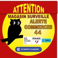 Alerte Commerces 44