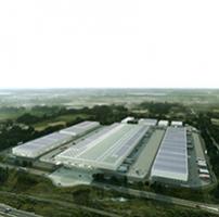 photographie aérienne futur MIN de Nantes